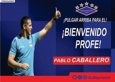 Pablo Caballero será presentado esta tarde en Campo Grande