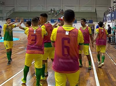Victoria de San Gerónimo sobre 3 de Mayo en la Copa Paraguay de Futsal FIFA