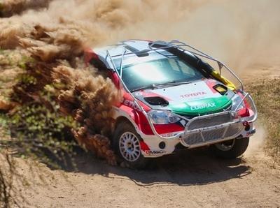 El colador hace efectos: Galanti asumió liderato del Transchaco Rally