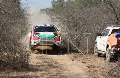 Alejandro Galanti marcha por su cuarto Transchaco Rally