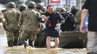 Aumenta a 18 la cifra de muertos por tifón Hagibis