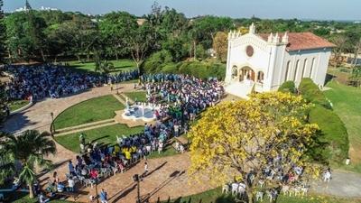 HOY / Multitud de fieles en honor al santo rosario