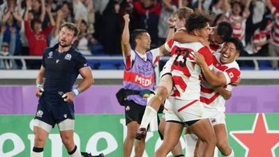 HOY / Un sorprendente Japón deja a Escocia fuera del Mundial de rugby
