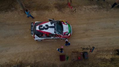 Ale Galanti a pasos de su cuarto Transchaco Rally