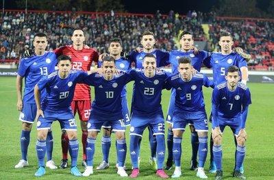 Paraguay tiene equipo confirmado para enfrentar a Eslovaquia