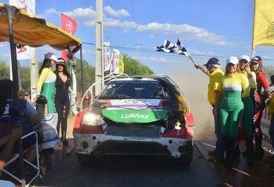 Alejandro Galanti es el campeón del Transchaco Rally 2019