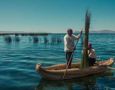 Puno: la increíble isla flotante creada por la comunidad Chimu