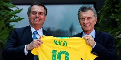 Suramérica no quiere más Venezuelas, le dice Bolsonaro a Macri