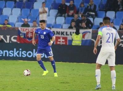 Paraguay saca un empate ante Eslovaquia