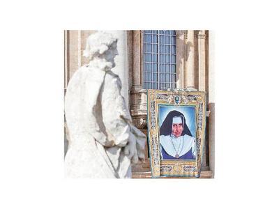 El papa Francisco canoniza a la primera santa brasileña