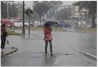 Lunes con lluvias dispersas y descenso de temperatura, anuncia Meteorología