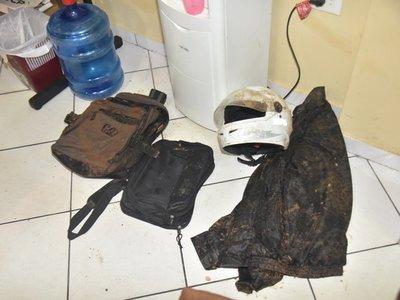 Dos motoasaltantes detenidos tras persecución y tiroteo en Luque