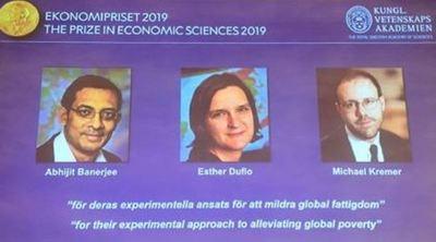 El Nobel de Economía premia estudios sobre la pobreza