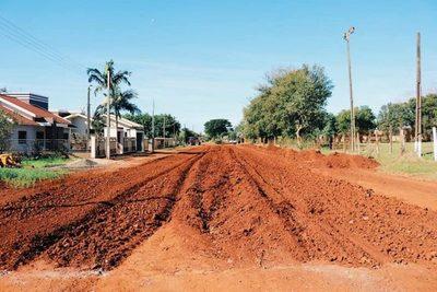 Diez distritos del Alto Paraná serán asfaltados