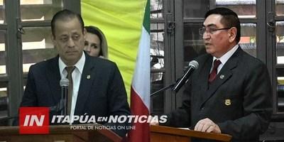 ASUMIÓ NUEVO DIRECTOR DE LA POLICÍA MUNICIPAL DE ENCARNACIÓN