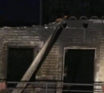 Incendio en vivienda de Mariano Roque Alonso habría sido provocado