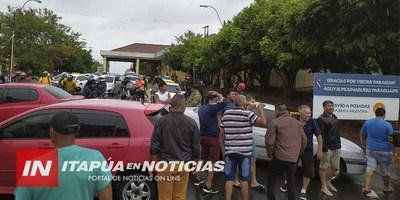 PASEROS Y UN NUEVO CIERRE DEL PUENTE SAN ROQUE GONZÁLEZ