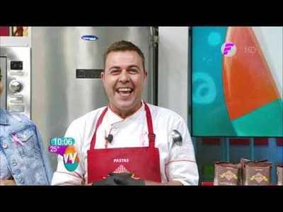 Spaghetti alla nerano y Magdalenas de canela en la cocina de VLV