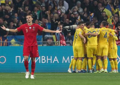 Ucrania da el golpe, vence a Portugal y clasifica a la Euro 2020