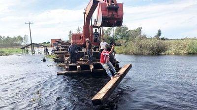 Se movilizarán contra construcción irregular de puentes