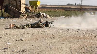 La milicia kurda cede el terreno al Ejército de Siria
