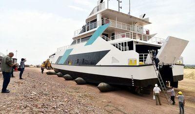 MOPC autoriza circulación del Ferry del Chaco