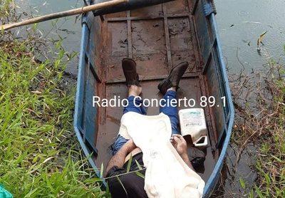 Hallan cuerpo de hombre ahogado en el Lago Yguazú