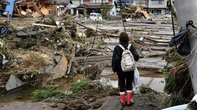 Asciende a 67 la cifra de muertos por tifón Hagibis en Japón