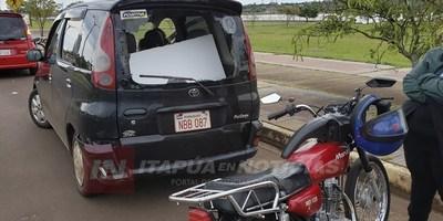 DOS ACCIDENTES SOBRE EL PUENTE QUE UNE COSTANERA BOLIK Y SAN PEDRO