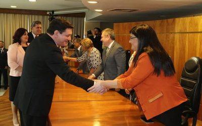 Altoparanaense jura como miembro del Tribunal de Apelación en la capital del país