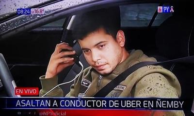 Asaltan a conductor de Uber en Ñemby