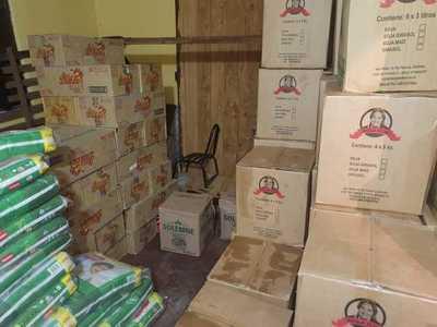 Villa Hayes: incautan mercaderías de contrabando