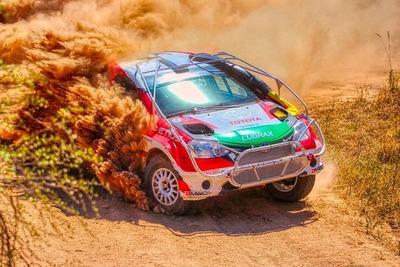 Toyota lideró el podio en el Transchaco Rally