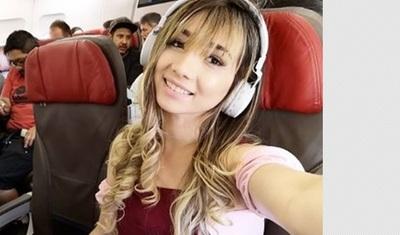 Marilina fue de gira por Brasil y dijo: ¿Quién se iba a imaginar que yo estaría recorriendo el mundo?
