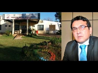SENADOR SE COMPROMETIÓ EN CONSEGUIR MÁS RECURSOS PARA HOSPITAL ONCOLÓGICO