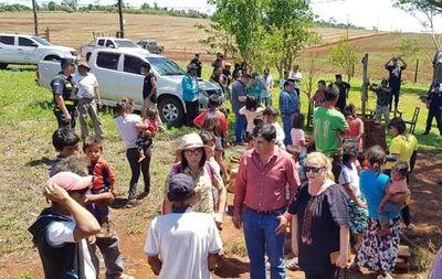 Diputados constatan usurpación de tierras indígenas