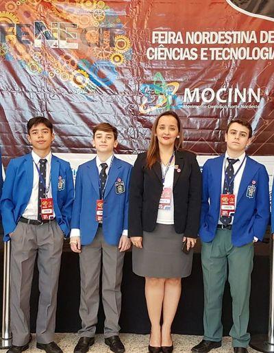 Trabajo de alumnos del San José obtiene primer lugar en feria científica