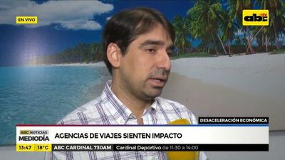 Agencias de viajes sienten impacto de la desaceleración económica