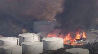 Emergencia tras explosiones en refinería de California