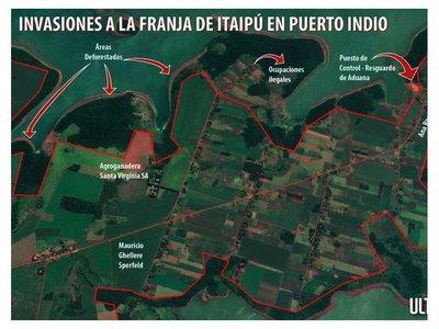 Embarcaderos cedidos por Itaipú a la ANNP cohabitan con  invasiones
