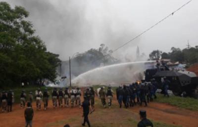 No es represión, es la aplicación de la ley por la vía de la fuerza, sostiene ministro del Interior