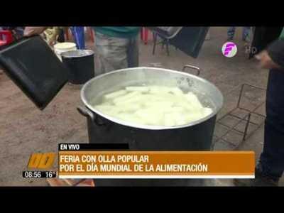 Feria con olla popular por el Día Mundial de la Alimentación