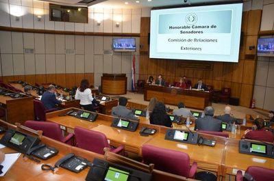 Arrom y Martí: procurador rindió cuentas ante senadores