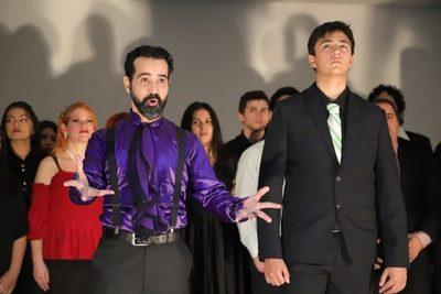 Gala de clausura de la escuela municipal de canto en el Teatro Municipal