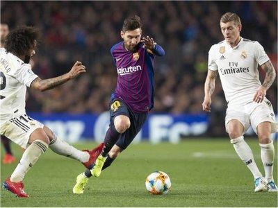 """Piden """"devolución de favores"""" y llevar el Barcelona-Real Madrid a Argentina"""