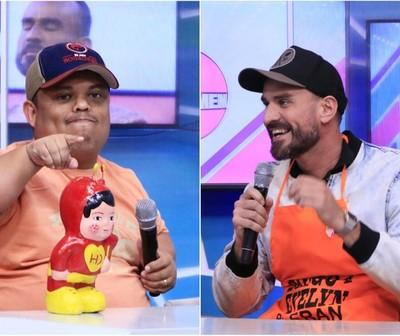 Mortero y Diego en el duelo teléfonico del Baila 2019