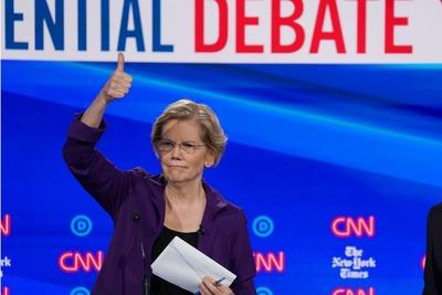 El momento de Warren: la demócrata que se afianza para pelear con Trump