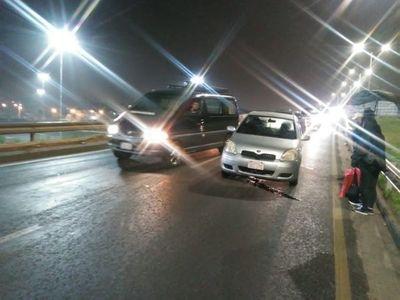MOPC afirma que resarcirán a automovilistas afectados por criminal fierro en viaducto