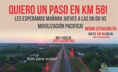 Preparan movilización en Yguazú contra Tape Porã