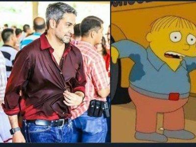 VIRAL: Comparan a Marito con Gorgory, el personaje de Los Simpsons